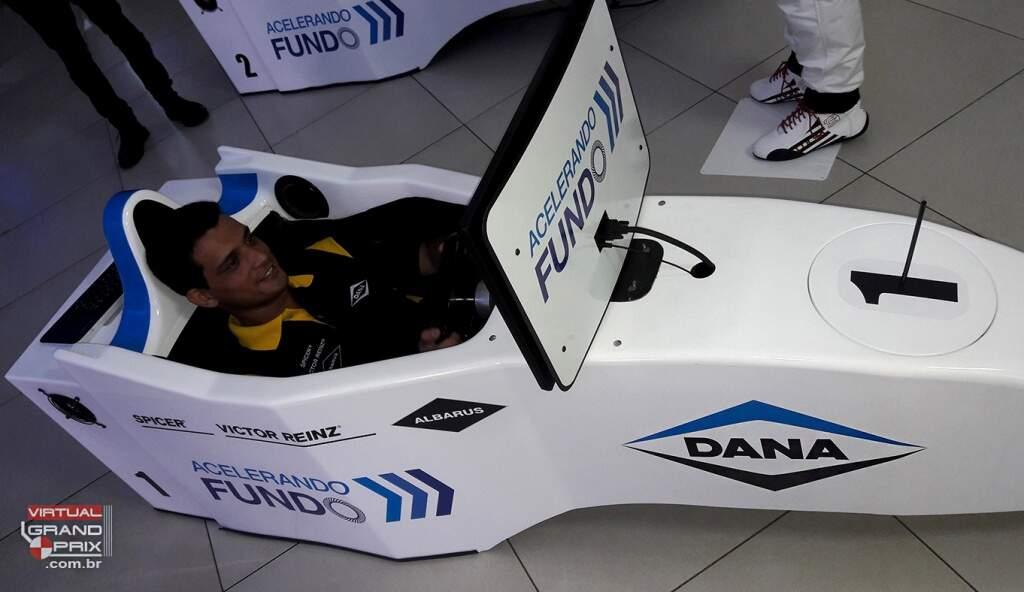Cockpit F1 Evento Simulador