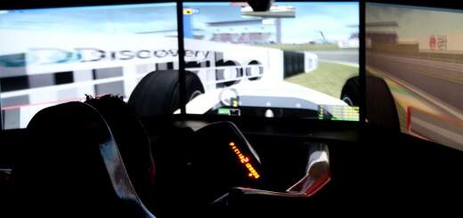 Cockpit F1 MOTION Simulator