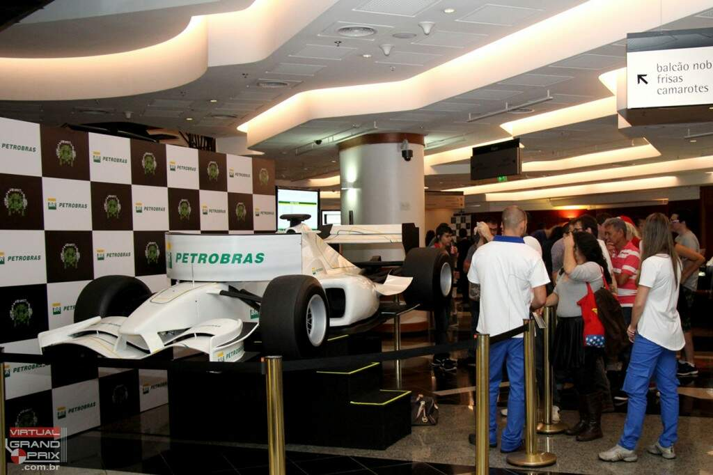 F1 MOTION Simulator