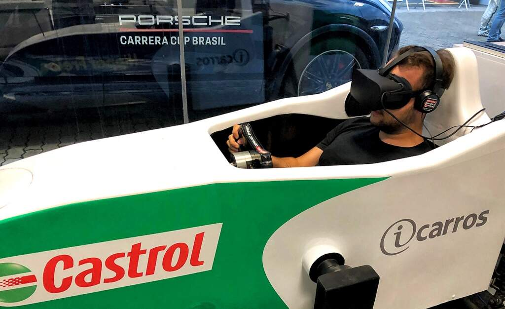 Motion Simulator VR @ Porsche Cup Interlagos (1)