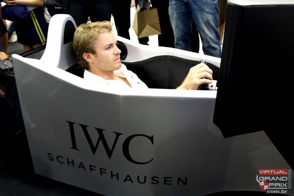 Nico Rosberg Simulador F1