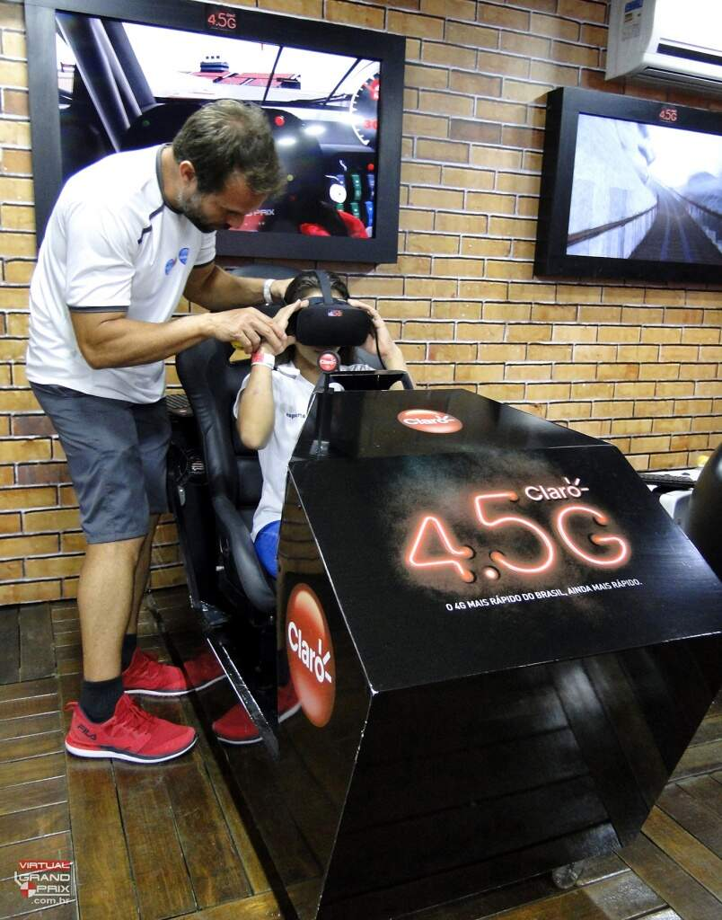 Realidade Virtual Simulador Claro