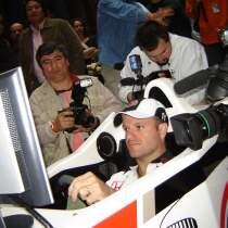 Rubens Barrichello - Simulador F1 Virtual Grand Prix