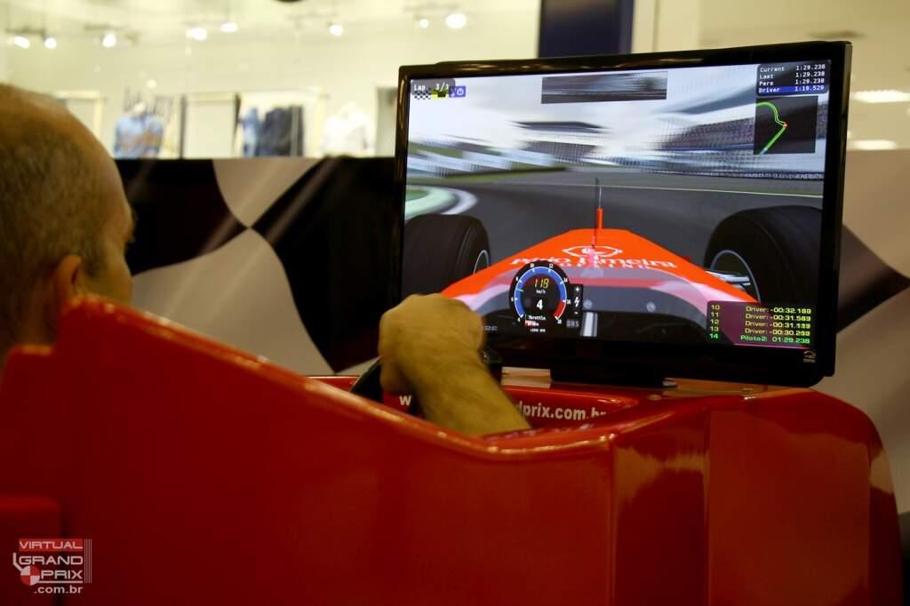 Simulador Cockpit F1 - Aluguel de Simulador