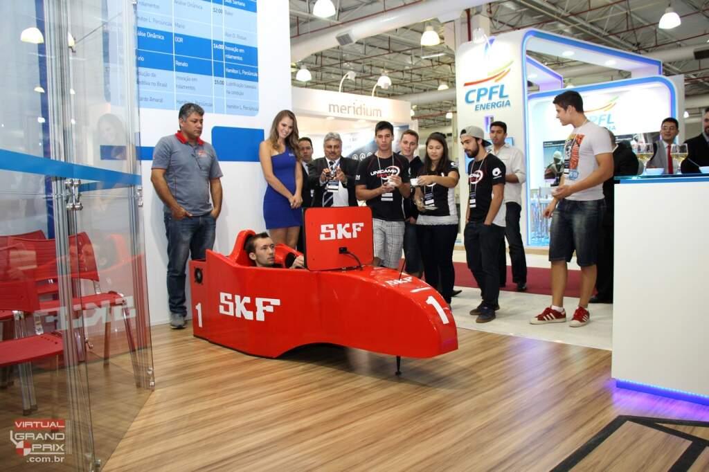 Simulador Cockpit F1 SKF (Expoman 2015 - Expo Dom Pedro Campinas) www.gpf1.com.br - 05