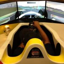 Simulador Cockpit F1 Virtual Grand Prix 28