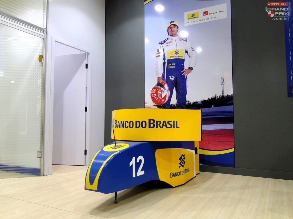 Simulador F1 Felipe Nasr