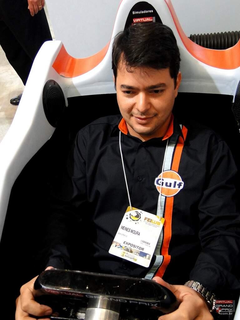 Simulador F1 MOTION GULF