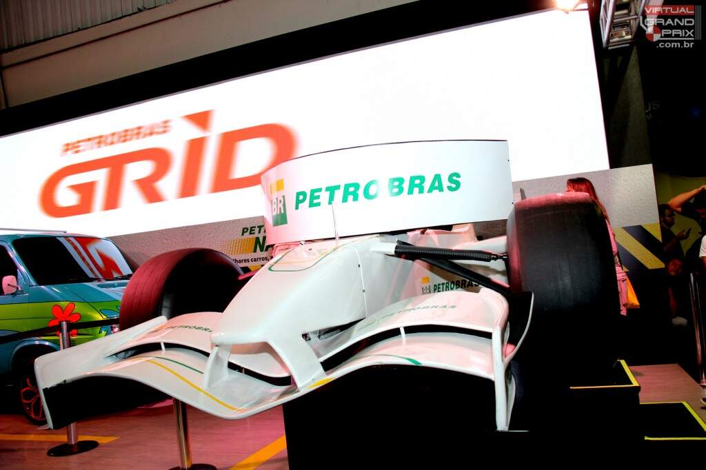 Simulador F1 Petrobras Campus Party 2015