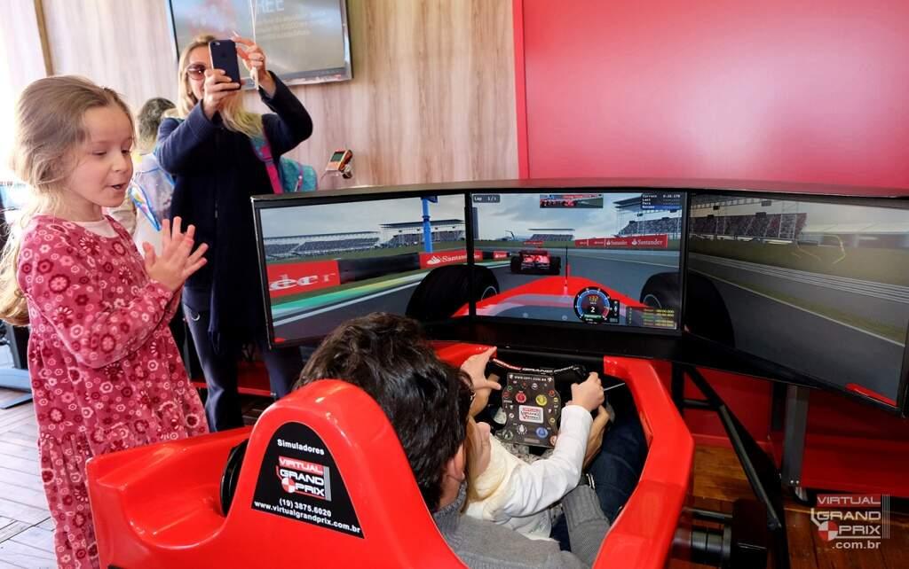 Simulador F1 Santander