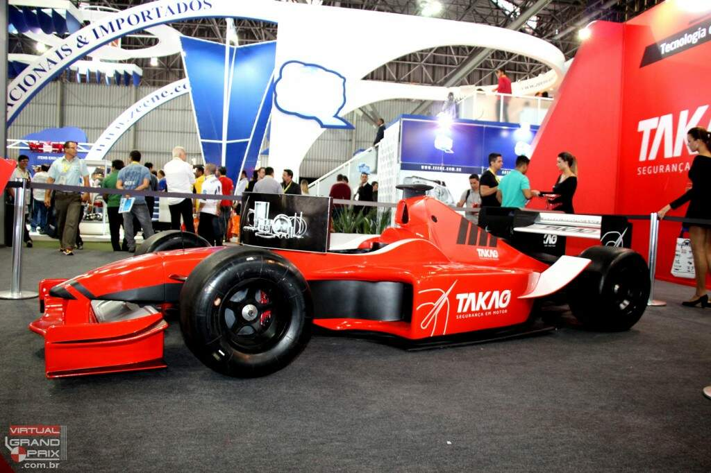 Simulador F1 max Virtual Grand Prix