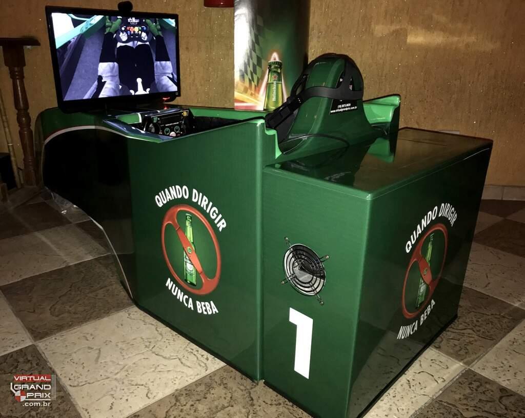 Simulador GP Brasil F1