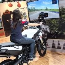 Simulador MOTO BMW - Salão 2 Rodas - www.virtualgrandprix.com.br (11)