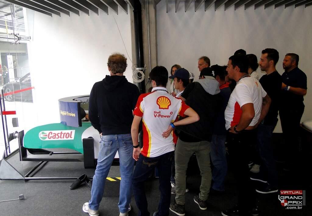 Simulador Porsche