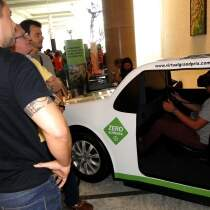 Simulador Real Car - ModeloB (Evento Bayer - Recife)