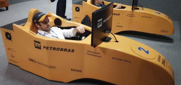 Simuladores Cockpit F1 McLaren - Petrobras @ GP Brasil 2018 (3)