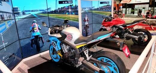 Simuladores Moto CBR Salao Duas Rodas