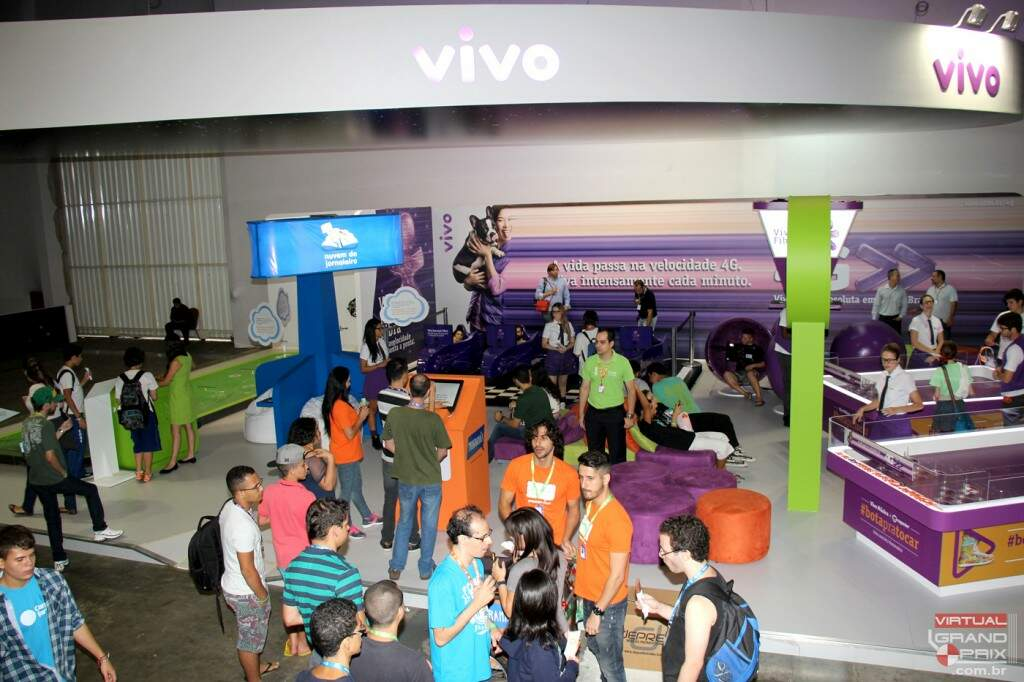 VIVO na Campus Party - Simuladores F1 Virtual Grand Prix