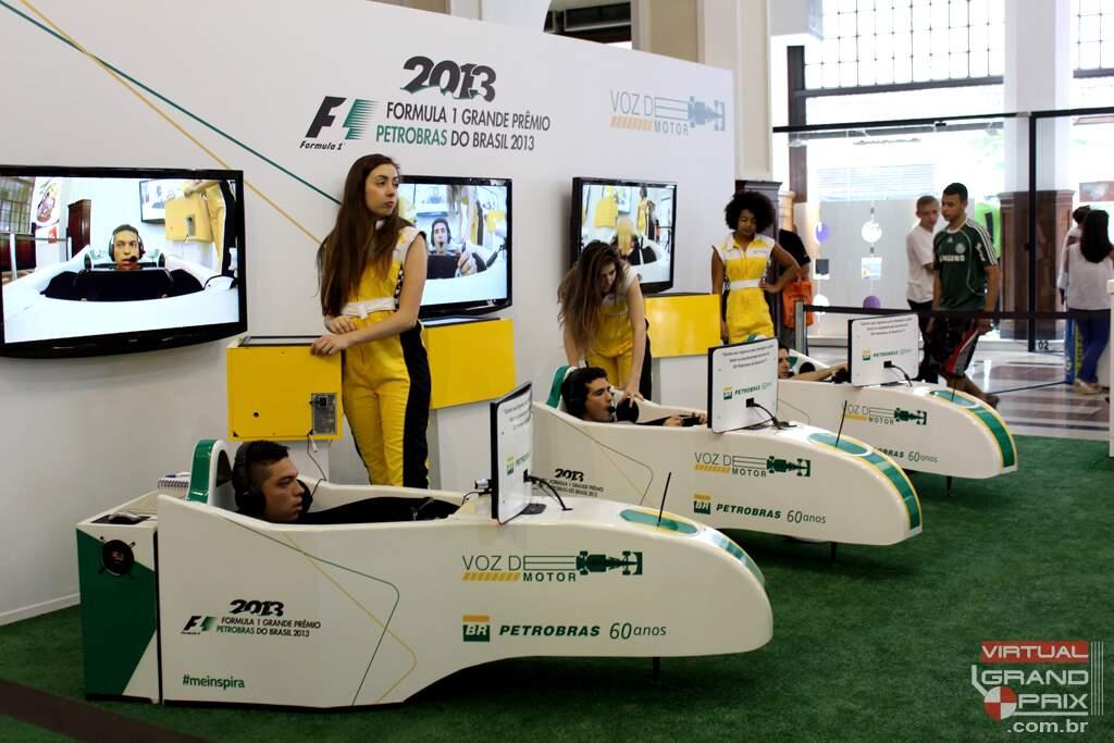 VOZ DE MOTOR Simulador F1