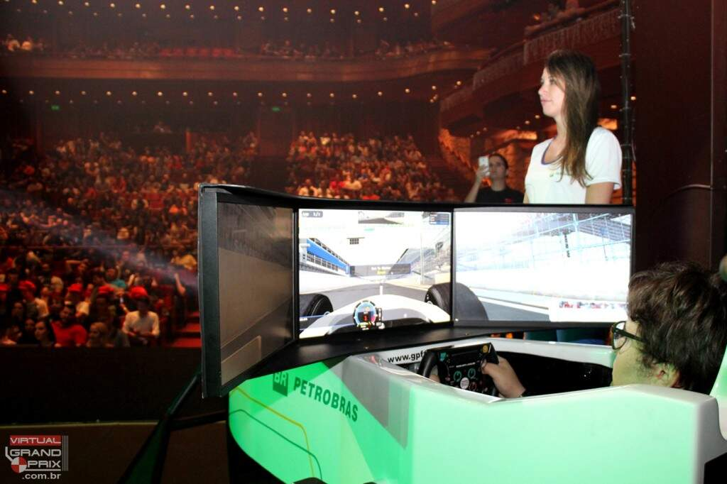 Video Games live Simulador F1 Petrobras